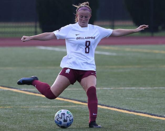 女子足球与杰克逊维尔州立大学1-1陷入僵局