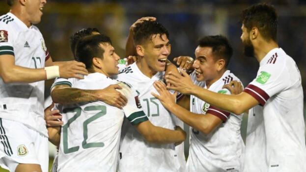 萨尔瓦多0-2墨西哥