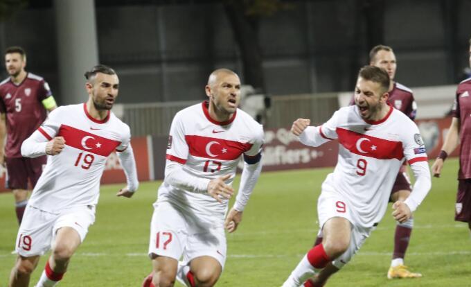 土耳其需要正面应对其余的世界杯预选赛