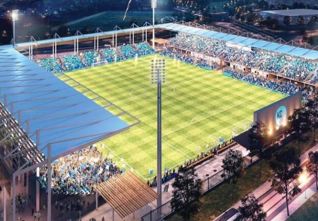 堪萨斯城队计划建造第一个为女子足球联赛建造的体育场
