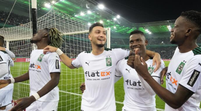 门兴格拉德巴赫5-0大胜拜仁