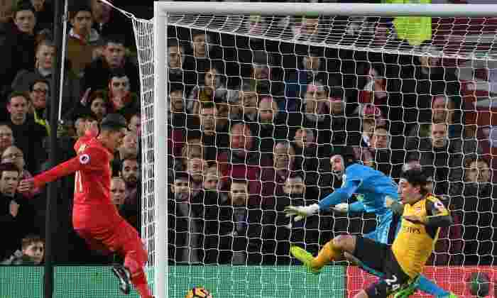 利物浦3-1阿森纳:枪手球员评分