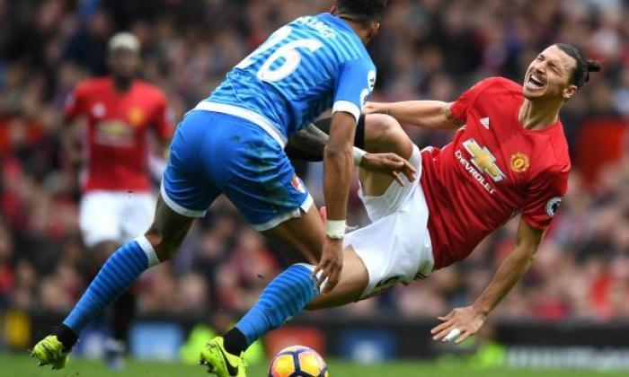 """""""他知道他所做的事情' - 曼联老板穆里尼奥对Zlatan Ibrahimovic的邮票回应泰隆"""