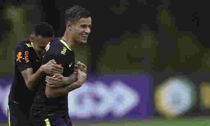 巴西巨星Neymar说,利物浦明星菲利普·南京(Philippe Coutinho)在巴塞罗那完全适合'巴塞罗那