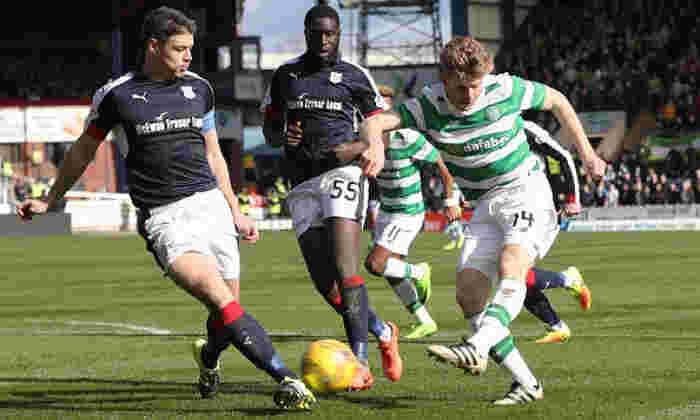 凯尔特人FC新闻:Brendan Rodgers说Stuart Armstrong准备好他的苏格兰首次亮相