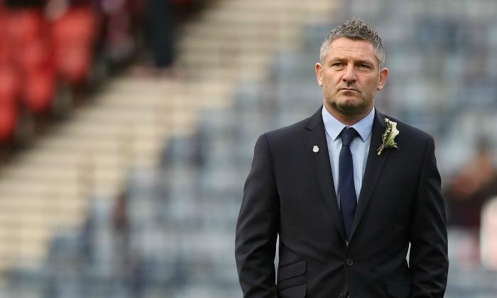 Aberdeen Assistant Manager Tony Docherty讲了苏格兰荣誉