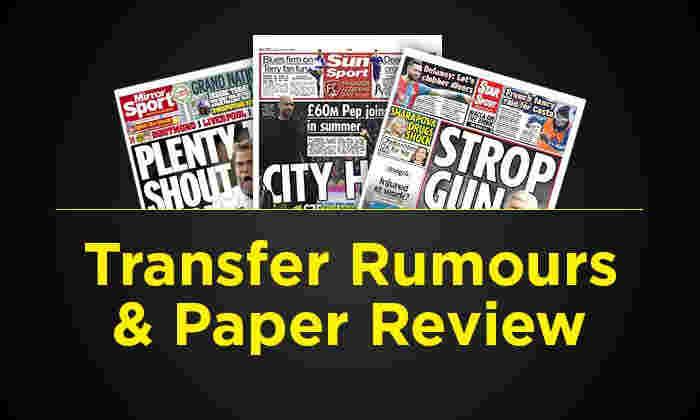 转移谣言和纸质评论 -  3月12日星期日:阿森纳集亚历琳温格截止日期,以便将来决定,1500万英镑Zlatan易卜拉欣诺维奇交易和更多的八卦