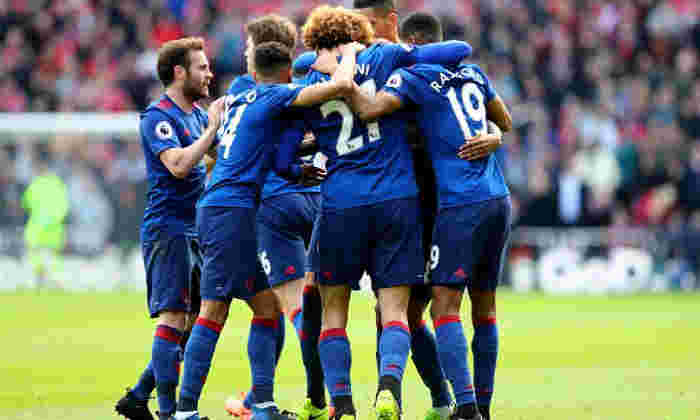 Middlesbrough 1-3曼彻斯特联队:三点移动穆里尼奥的男人在阿森纳