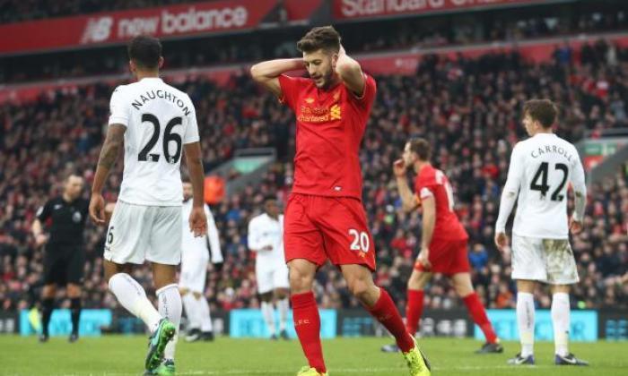 Liversport告诉谈话者,Liverpool Star Adam Lallana可以被删除托特纳姆冲突