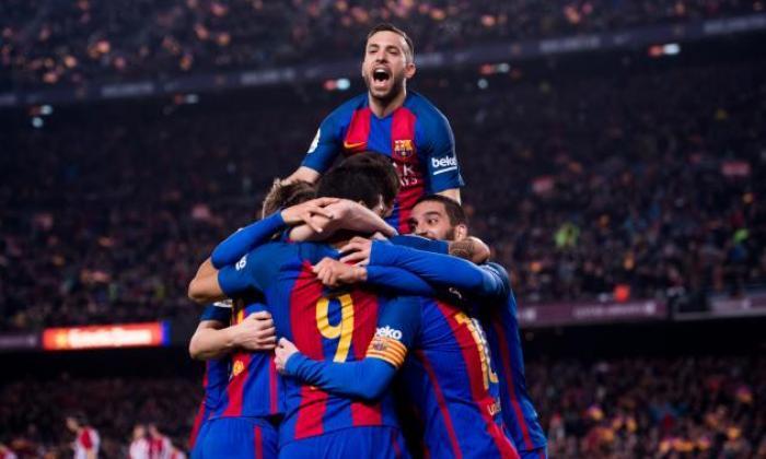 巴塞罗那1-1马德里(3-2 agg):巴尔卡队拿到Copa del Rey Final