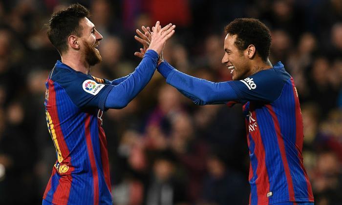 视频:巴塞罗那5-0 Celta Vigo:莱昂内尔·梅西击中了贝拉山巨头在Laliga的顶部点