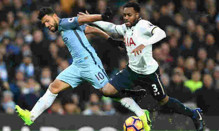曼彻斯特城市新闻:Pep Guardiola对Landing Tottenham Fullback Danny Rose of£50million转移 - 报告