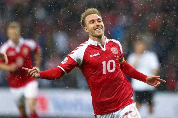 埃里克森领衔丹麦世界杯初选名单