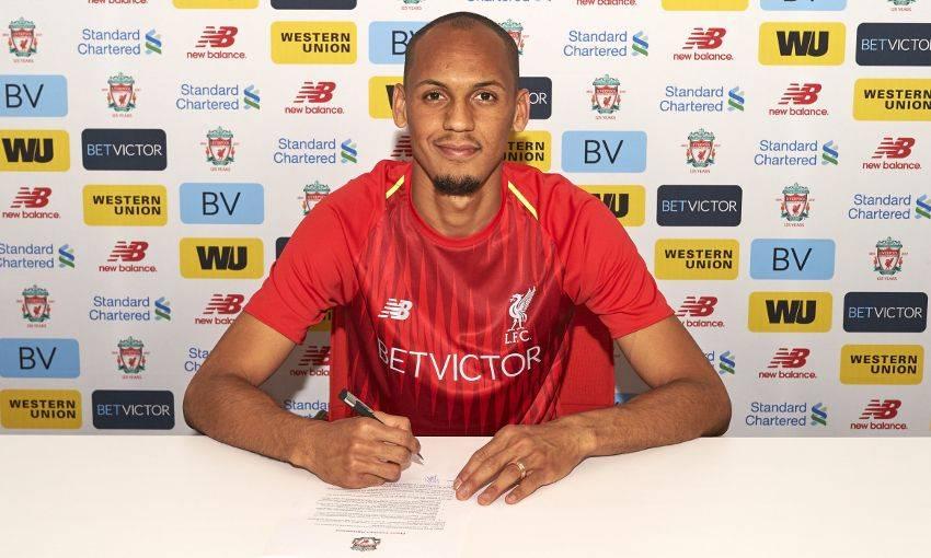 官方:利物浦签下法比尼奥